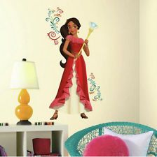 Disney PRINCESS ELENA of AVALOR wall sticker MURAL 9 decals girl's room decor