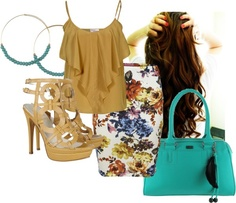 """afternoon"" by leily-mejia on Polyvore"