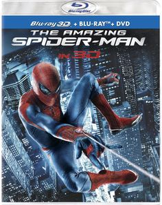 The Amazing Spider-Man 3D Blu-ray package art