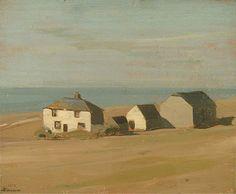 William Nicholson (Angleterre, 1872–1949) – Judd's Farm (1912) Towner Art Gallery, Eastbourne, Angleterre