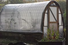 Off-Grid Home Sweet Home: Cattle Panel Greenhouse