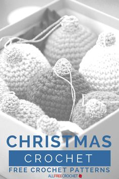 Check out these free Christmas crochet patterns for ideas on holiday home decor and easy holiday crafts! Free crochet Christmas patterns are great to find and make.