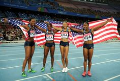 Olympics 2012: 5 Track-and-Field Athletes.USA truly represented the USA.We dominated.