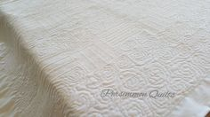 Back of quilt made by Tammy. Longarm quilted by Le Ann Weaaver with www.persimmonquilts.com