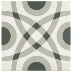 """Found it at Wayfair - Forties 7.75"""" x 7.75"""" Ceramic Floor and Wall Tile in…"""