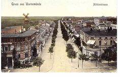 Rostock - Warnemünde,  Mühlenstraße 1909