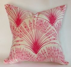 Christopher Farr Cloth Brisa in Hot Pink by WestEndAccents on Etsy