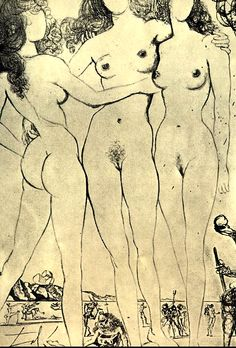 Salvador Dali, The Judgement of Paris, 1963