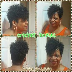 Crochet Hair Pixie Cut : Crochet Braids - Pixie Cut Big Reveal I LOVE MY NATURAL HAIR ...