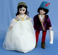 I found these vintage Madame Alexander Romeo & Juliet dolls for my daughter at a cottage home shop ~
