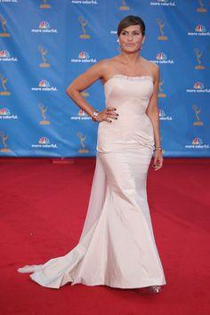 Mariska Hargitay and Kim Kardashian: White hot at the Emmys