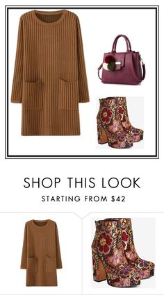 """""""Untitled #1"""" by dzemila-c ❤ liked on Polyvore featuring Shellys"""