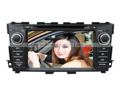 Car DVD Player with GPS Navigation BT USB for Nissan Maxima 2013  Model: HSL-SD-197G  $323.52
