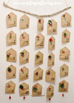 Advent Calendar inspired in Marie Claire Idees
