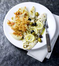 Italiaans kán heel snel zijn, maar soms neemt het iets meer tijd in beslag. Iets meer werk dus, maar mama mia wat smaakt deze vis met citroen, olijven en gegratineerde venkel goed!