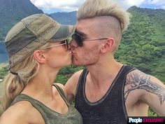 The American Idol alum and his new wife share favorite moments from their romantic Polynesian escape #coltannwedding