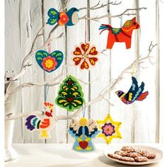 Add a personal touch to your tree this Christmas decorations home made using McCall's Crafts Christmas Decorations Sewing Pattern M6674