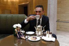 #Barbie loves Luca, Assistant F Manager #teatime #VFNO