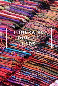 Itin�raire au Laos. Pr�parer un voyage au Laos : budget et infos utiles. #laos #voyageLaos #itineraireLaos
