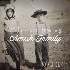 31 Days of Amish