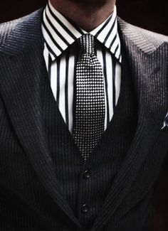 Dapper. I imagine Christian Grey wearing this. In my dreams.