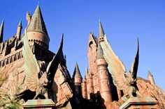 Visiting The Wizarding World of Harry Potter is also on your bucket list.