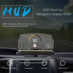 Now avaiable in our store Smartphone Driver....Check it out here http://5voltplus.myshopify.com/products/smartphone-driver-heads-up-display?utm_campaign=social_autopilot&utm_source=pin&utm_medium=pin