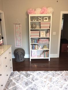 Pale Pink, White, and Gray Classic Nursery - Project Nursery Baby Bedroom, Baby Room Decor, Nursery Room, Girl Nursery, Girls Bedroom, Nursery Decor, Nursery Ideas, Girl Rooms, Bedrooms