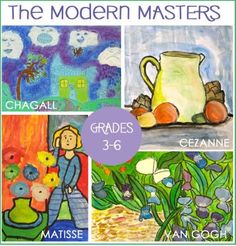 The-Masters art lesson plans