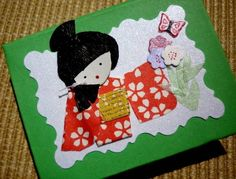 Post it japonesinha.  Designer Sayuri Murakami.   momoartesanatos@gmail.com momoartesanatosbrasil.blogspot.commomoartesanatos.elo7.com.br   loja.momoartesanatos.com.br  Rio de Janeiro - RJ - Brasil.