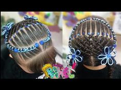 PEINADO INFANTIL/ ENCINTADO EN DOS COLETAS FÁCIL Y RAPIDO/ Peinados Rakel 62 - YouTube Girls Braids, Little Girl Hairstyles, Little Girls, Hair Color, Hair Accessories, Etsy, Hair Styles, Youtube, Harley Quinn