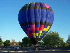 Going on a balloon ride, Albuquerque, NM