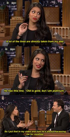 She talked about how she might owe her dad some money… | Here's Everything That Went Down When Lilly ||Superwoman|| Singh Went On Jimmy Fallon