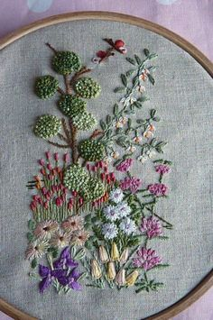 Wonderful Ribbon Embroidery Flowers by Hand Ideas. Enchanting Ribbon Embroidery Flowers by Hand Ideas. Silk Ribbon Embroidery, Embroidery Hoop Art, Crewel Embroidery, Hand Embroidery Patterns, Cross Stitch Embroidery, Embroidery Designs, Flower Embroidery, Garden Embroidery, Embroidery Machines
