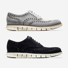 @colehaan introduce the groundbreaking ZeroGrand, a mix of old-world details with today's most advanced footwear tech. What do you think?