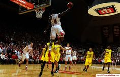 HolyDipo!!!  IU Beats #1 Michigan at Assembly Hall on 2/2/13! :D (Too bad this dunk at the last second of the game didn't get counted...)