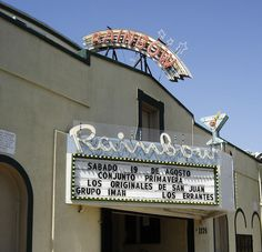 Rainbow Ballroom in Fresno, California.