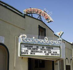 Rainbow Ballroom in Fresno, California.