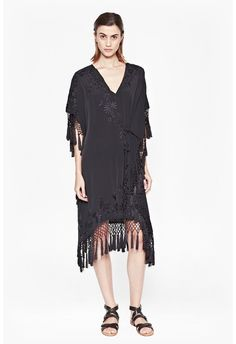 Raquel Tassel Dress