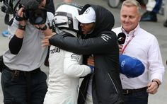 Valtteri Bottas and Lewis Hamilton Pole Position Brazilian Grand Prix 2017 Brazilian Grand Prix, F1 2017, Valtteri Bottas, Lewis Hamilton, Formula 1, Motorcycle Jacket, Mini, Pictures, Saying Goodbye