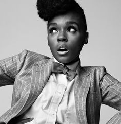 Janelle Monae is surprised we are even having this discussion. | Photographic Evidence That Proves Bow Ties Belong To The Ladies