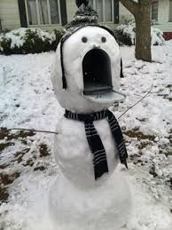 Ahhhh... not more snow! Spring, arrive already!