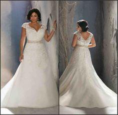 Plus Size Wedding Dresses With Straps