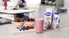 Check out this easy mixed berry smoothie recipe – ready in minutes & great to wake you up in the morning or after a session at the gym!