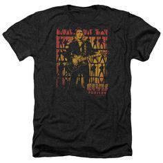 Elvis/Comeback Spotlight Adult Heather T-Shirt in