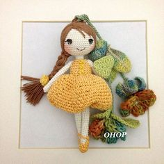 cute amigurumi dolls - images only by ohopshop.com