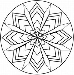 Color online with this game to color Mandalas coloring pages and ...
