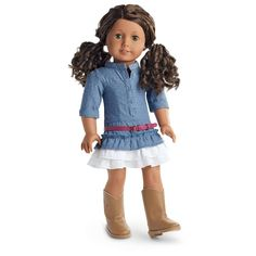 American Girl Coconut/'s Best Friend Outfit Blue Jean Jacket For Doll Only