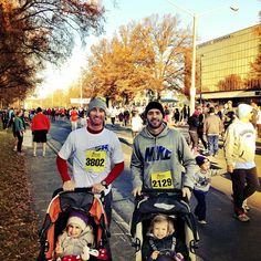 """Photo by jimmiejohnson. Jimmie & Marty with their girls """"Turkey Trotting"""""""