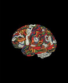 Colorful Brain by GdChiarts